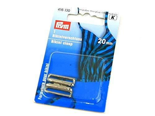 Prym Cierre par Bikini Metal 20 mm Color Plata